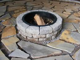 36 Fire Pit by Guides Using Fire Pit Kit From Lowes 36 Stones And Ring Insert