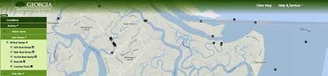 Jekyll Island Map Coastal Resources Division