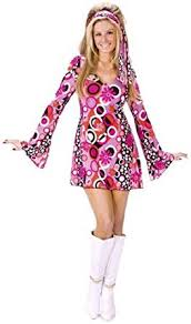 pink costumes world women s feelin groovy costume clothing