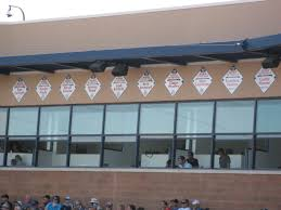 Peoria Tent And Awning Spring Training Stadium Tour Peoria Sports Complex True Blue La