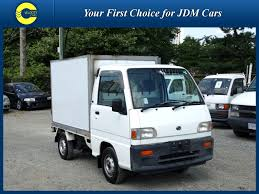 subaru pickup for sale 1998 subaru sambar kei box truck van for sale in bc canada