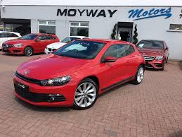 volkswagen coupe used volkswagen scirocco coupe 2 0 tdi bluemotion tech gt 3dr in