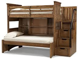 Wood Futon Bunk Bed Plans by Best 25 Bunk Beds With Stairs Ideas On Pinterest Bunk Beds With
