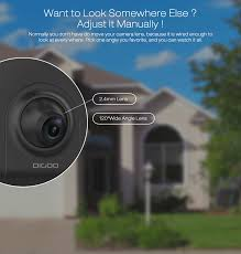 front door security light camera digoo dg ulc gardening flood light camera wifi h 265 hd 1080p 2 4mm