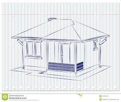 house sketch stock photography image 31569722