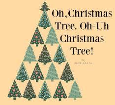 oh christmas tree oh uh black market christmas tree blue abaya