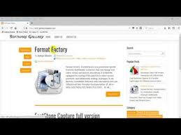 format factory online video converter format factory best video converter youtube