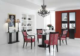 Burgundy Dining Room Home Design Dining Room Decorating With Red Chairs Fresh Striking