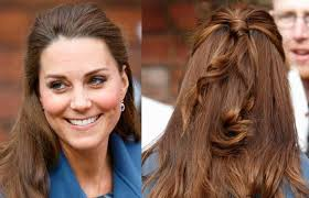 hair highlighted in front fifty strands of grey how kate middleton s hair made front page