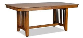 Dining Table Oak Ridge Dining Table Oak Levin Furniture