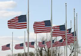 Flying The Flag At Half Staff Why Are Flags At Half Staff Today U S News In Photos
