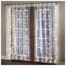 lighted curtains lights card and decore