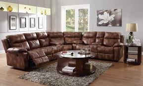 Living Room Furniture Recliners Furniture Create Your Living Room With Cool Sectional Recliner