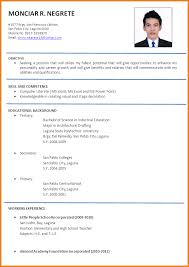 Example Resume For Job by 28 Resume Applicant Sample Resume For College Application