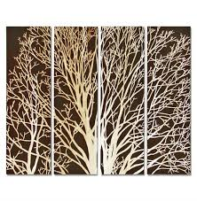 carved wood wall arbor tree brown carved wood wall mural kathy kuo home
