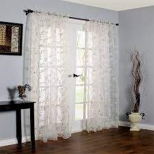 Sheer Embroidered Curtains Ikea Embroidered Curtains Decorate The House With Beautiful Curtains