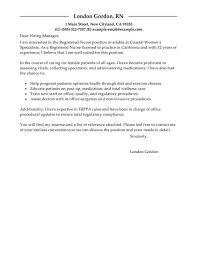 cover letter for nursing position lukex co