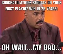 Cincinnati Bengals Memes - bengals week let it roll