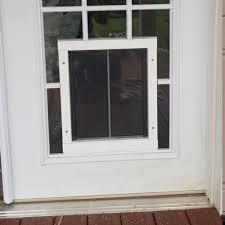 doggie door in glass door superior pet doors pet door installation indiana