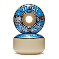 formula 4 spitfire formula four classic full skateboard wheels 54mm 99du