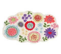 margherita missoni garden floral rug pottery barn kids
