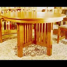 Mission Dining Room Table Mission Dining Tables Craftsman Arts And Crafts Stickley Style