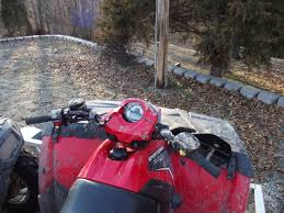 rolled my 500 h o today polaris atv forum