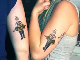 adorable family tattoos with brother and sister tattoos great