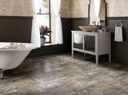 elegant vinyl flooring for bathroom 5 flooring options for