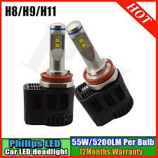 car led lights for sale ruixin newest 2pcs 110w 10 30v 6000k p6 mz led white auto led light