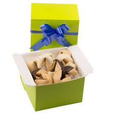 where can you buy fortune cookies individual personalised cookies boxed with a beautiful ribbon for