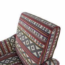 Buy Armchair by 75 Off Aztec Pattern Accent Armchair Chairs