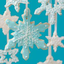 snowflake cookies snowflake cookie ornaments recipe taste of home
