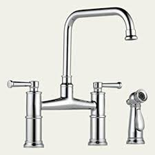 Bridge Kitchen Faucet Brizo 62525lf Pn Polished Nickel Artesso Two Handle Bridge Kitchen