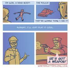 Body Meme - finding a dead body meme guy