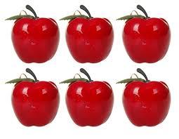 only 3 30 5 cm apple ornament set 01 01 2015