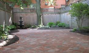 patio made with pavers small courtyard design courtyard paver
