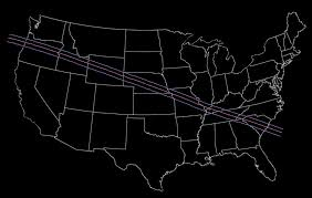 How Long Does It Take To Travel A Light Year Total Solar Eclipse 2017 Path Through The United States