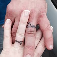 28 best on wedding finger tattoos for images on