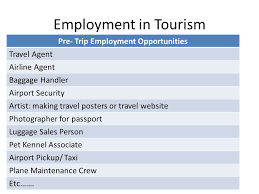travel and tourism jobs images 1 8 employment in tourism employment in tourism how many jpg