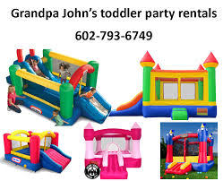 party rentals az s toddler party rentals
