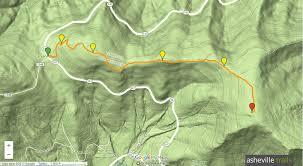 Mountain Map Roan Mountain Hiking The Appalachian Trail To Grassy Ridge