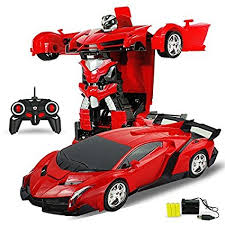 ferrari transformer buy gomerrykids transformer rc ferrari car robot remote control