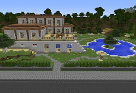 house with pool grand modern house with pool 3 grabcraft your number one source