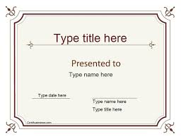 sle certificate of recognition template adoption certificate template