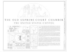 file site plan and map u s capitol old supreme court chamber