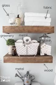 Shelves In Bathroom Ideas Best 25 Bathroom Shelves Ideas On Pinterest Small Bathroom