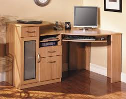 All Wood Computer Desk Desk Amazing Solid Wood Corner Computer Desk With Double Storage