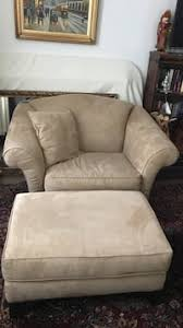 Loveseat With Ottoman Red Leather Loveseat And Ottoman In Upper Gwynedd Letgo