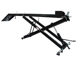 motorcycle lift table plans air and hydraulic motorcycle lift systems